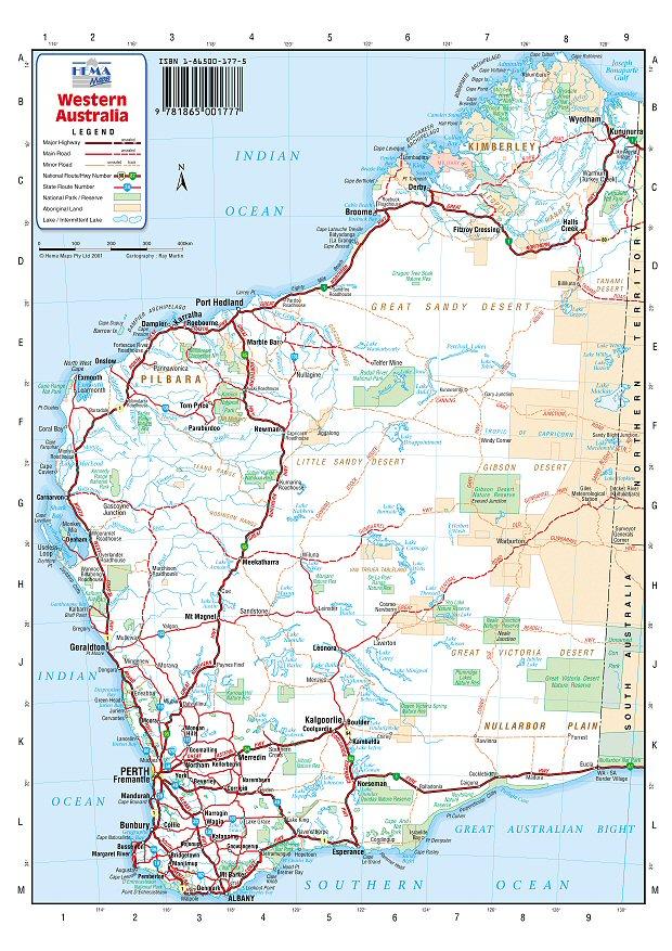 pics photos wa australia maps western australia maps